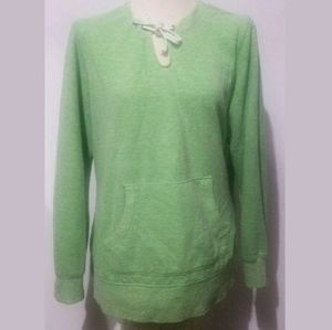 Green Tea Women's Pullover SweatshirtSize XXL